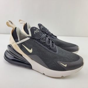 "Nike Air Max 270 ""Black Beige"" Running Shoes"